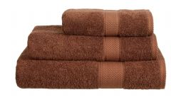 Chocolate 100% Cotton Turkish Ringspun Towel 500 Gsm